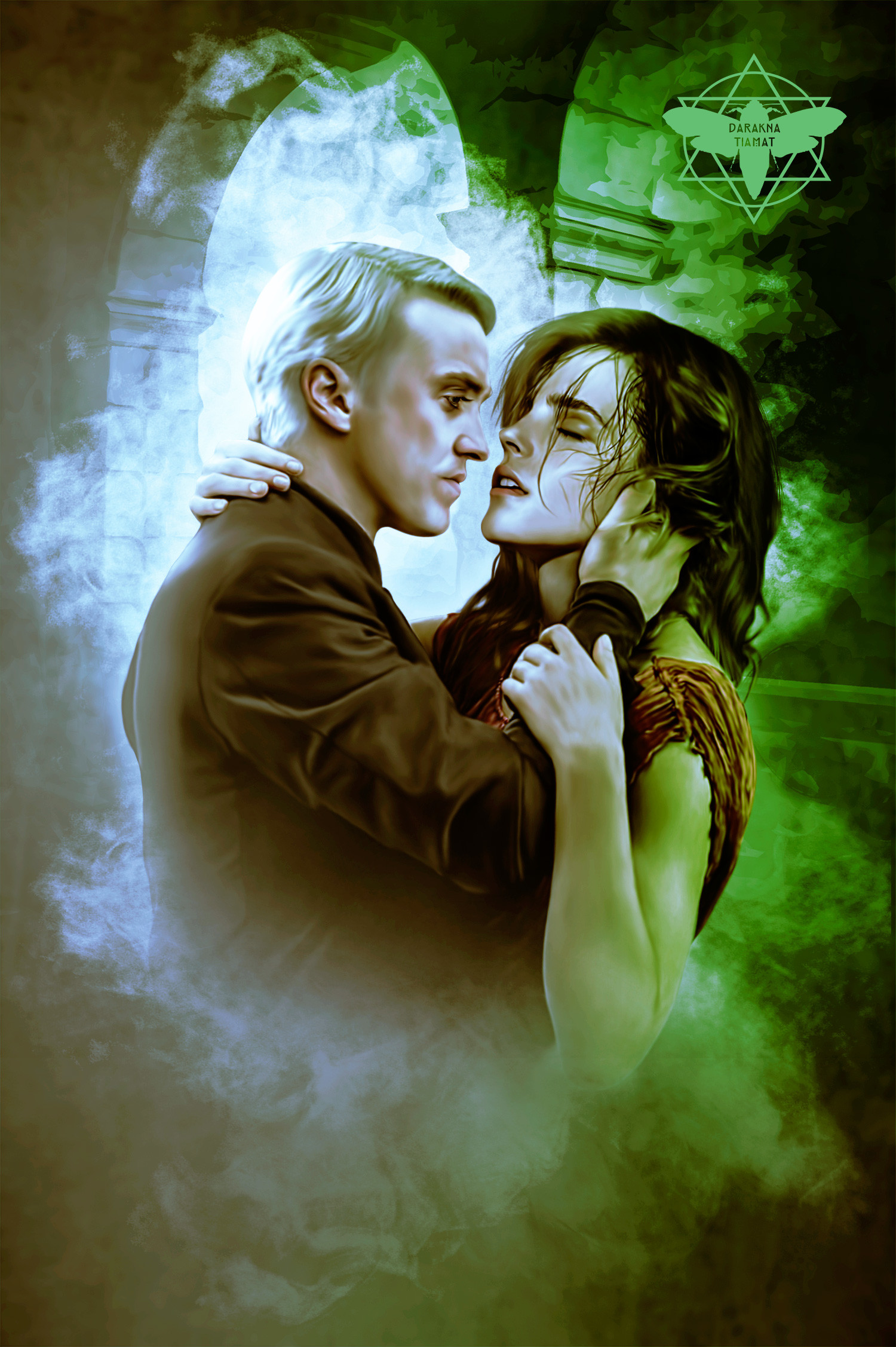 är Hermione dating Malfoy
