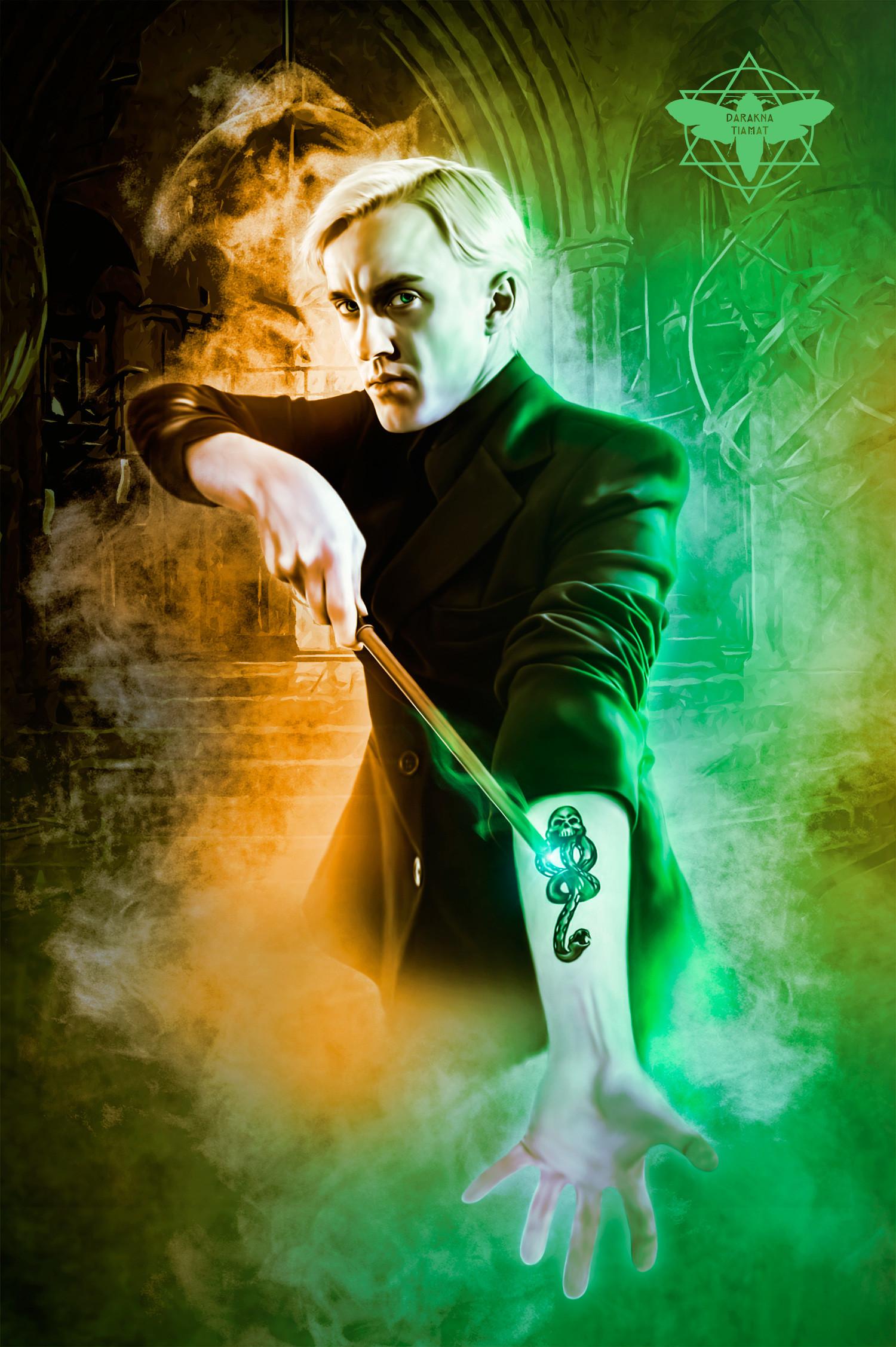 Artstation Tom Felton As Draco Malfoy Darakna Tiamat