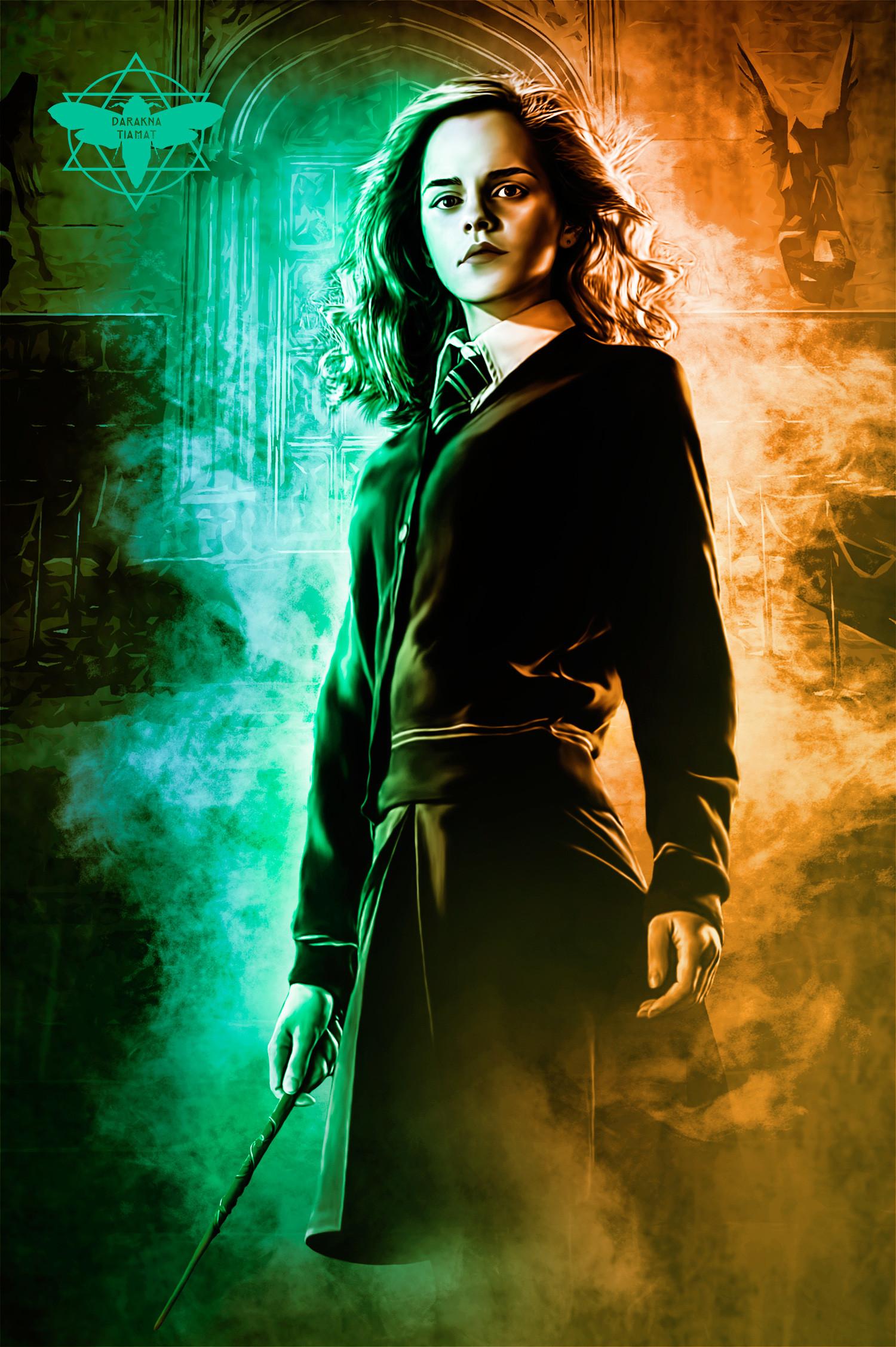 Darakna Tiamat Emma Watson As Hermione Granger