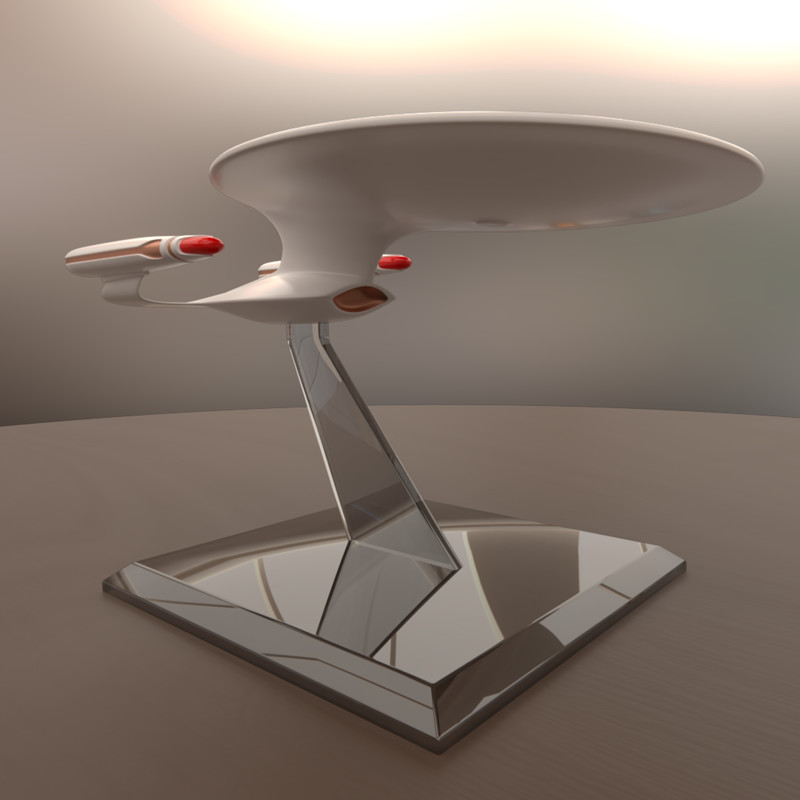 Galaxy-Class Model Starship
