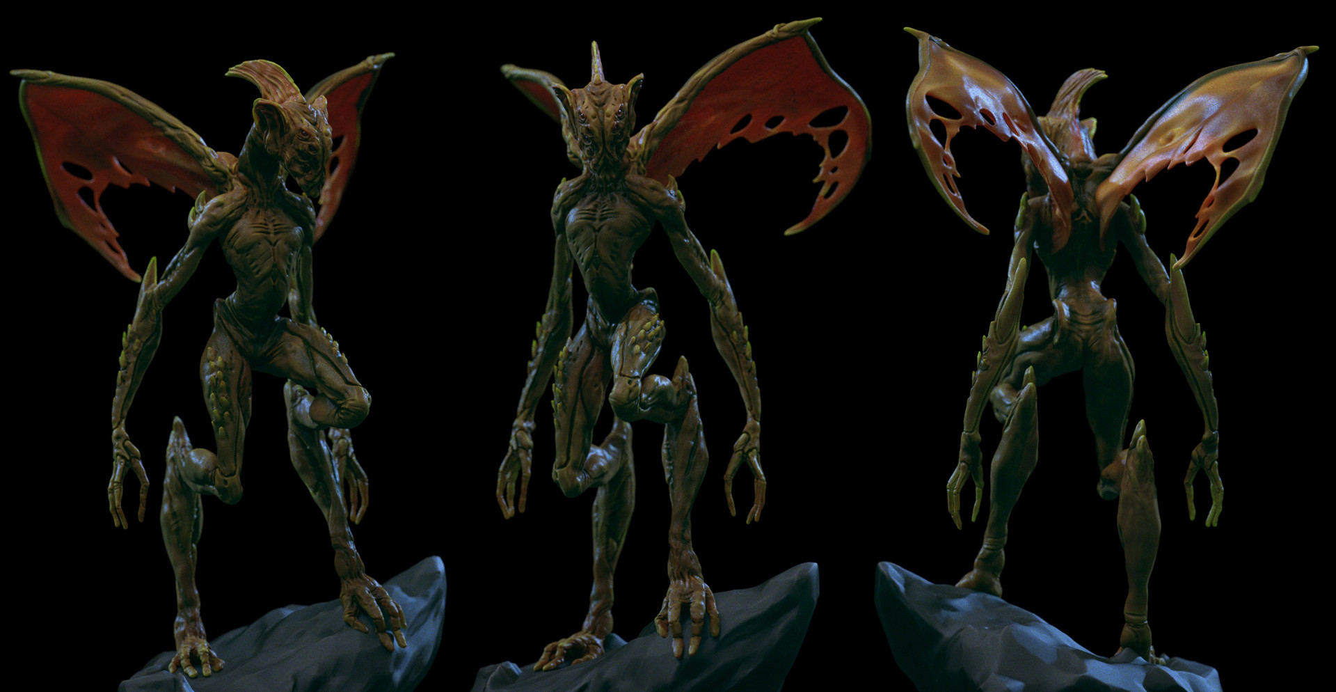 Ilhan yilmaz creature render 13
