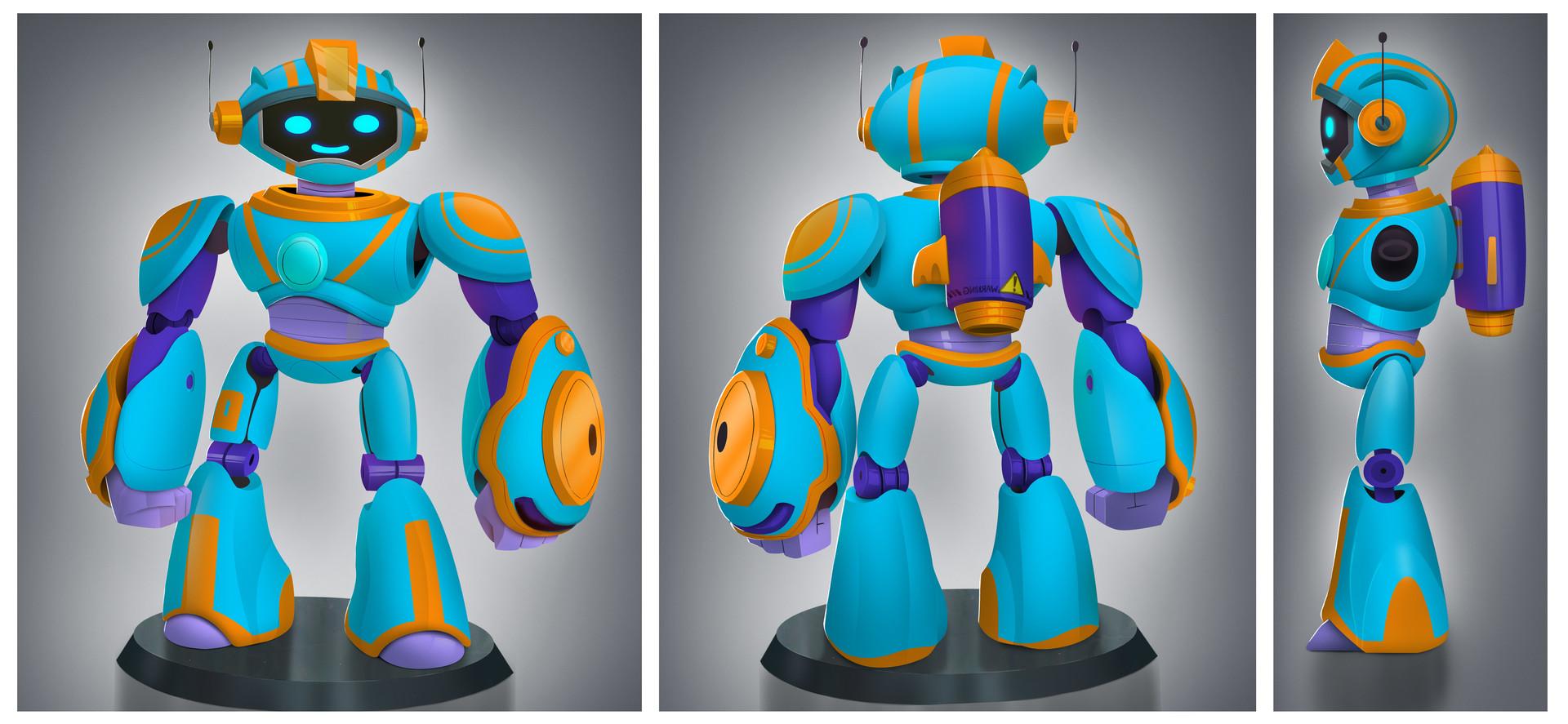 Rayner alencar robot turn around color