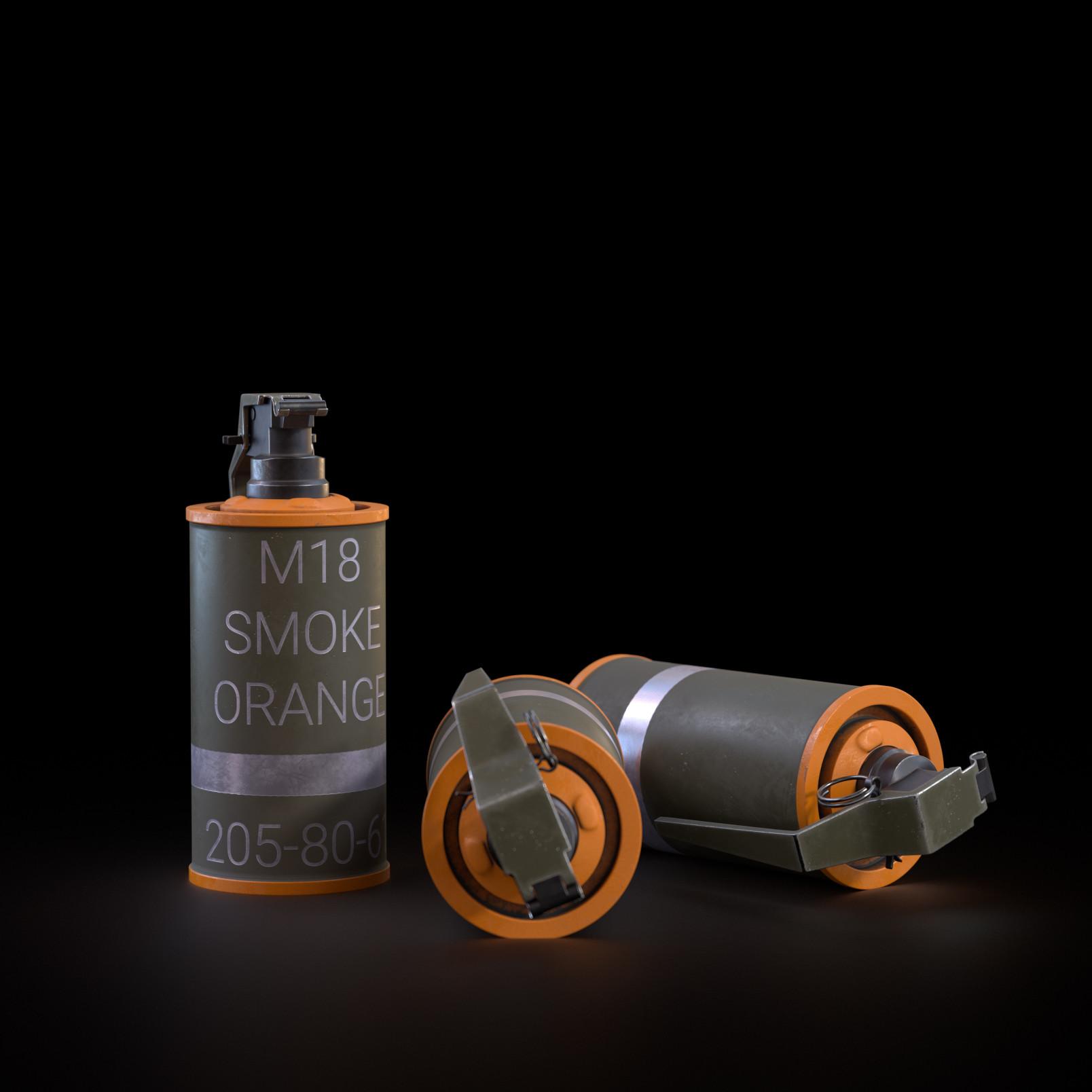 Dawid cencora smoke granades