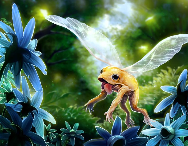Tanyaporn sangsnit 2 flying frog babbling glove