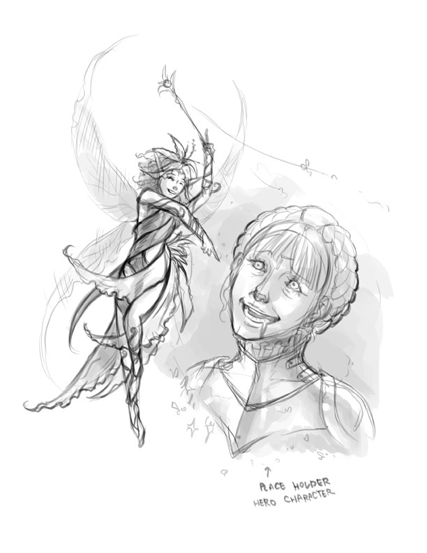 Tanyaporn sangsnit fairy wizard sketch