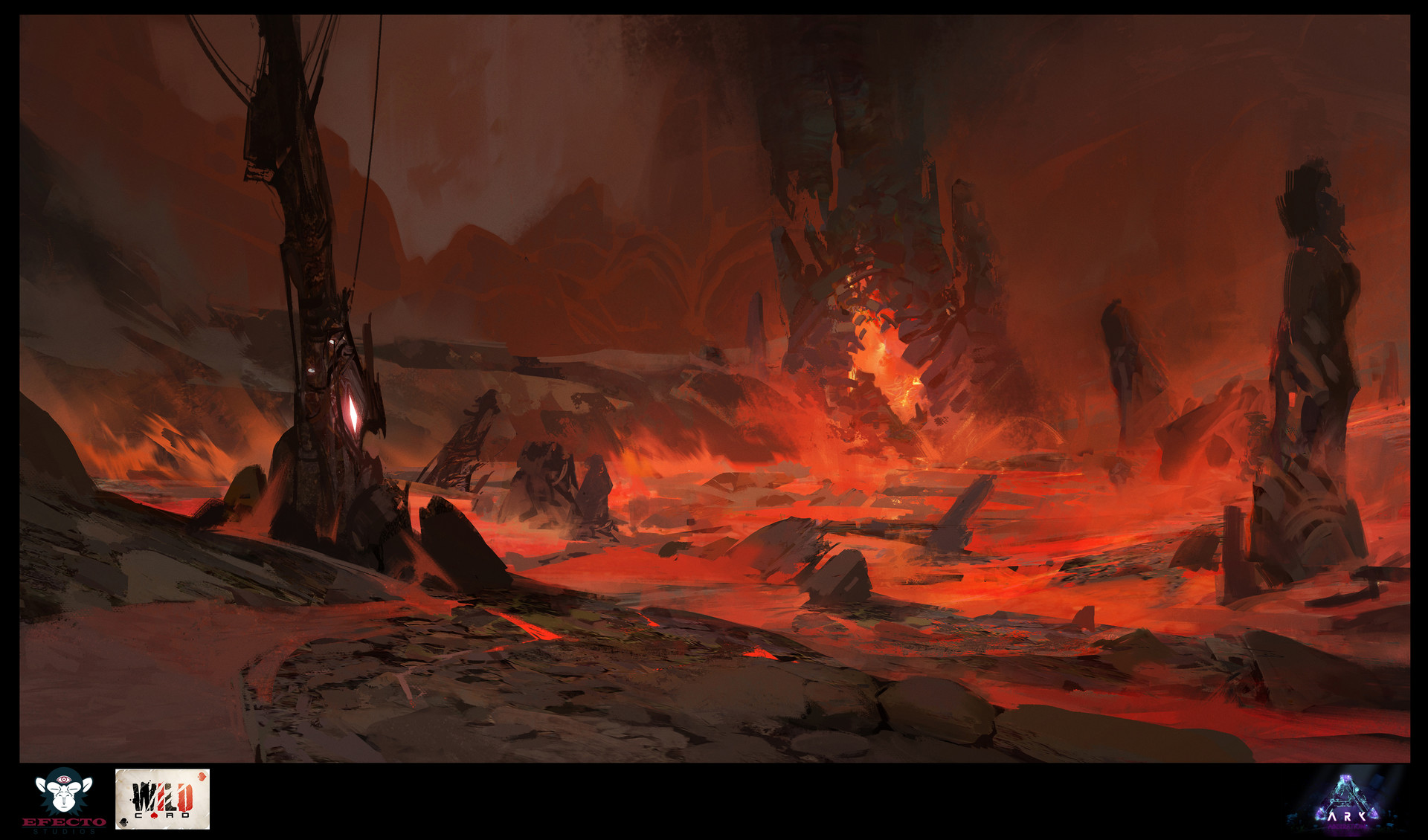 ArtStation - Aberration: Red Caves, Sebastian Kowoll