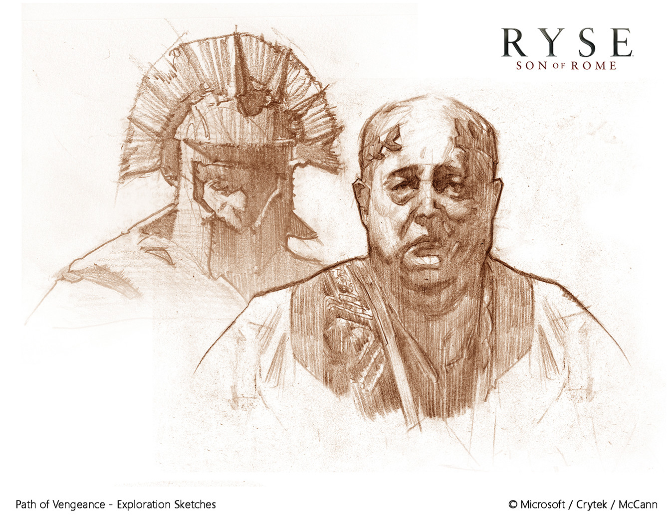 Steve carruthers ryse path of vengeance sketches 1b s