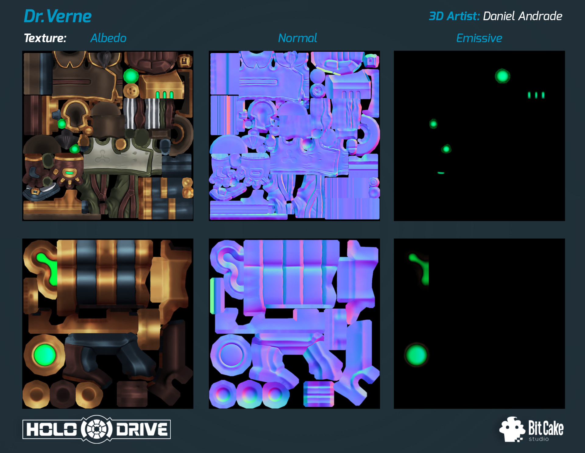 Daniel andrade holodrive drverne texture final