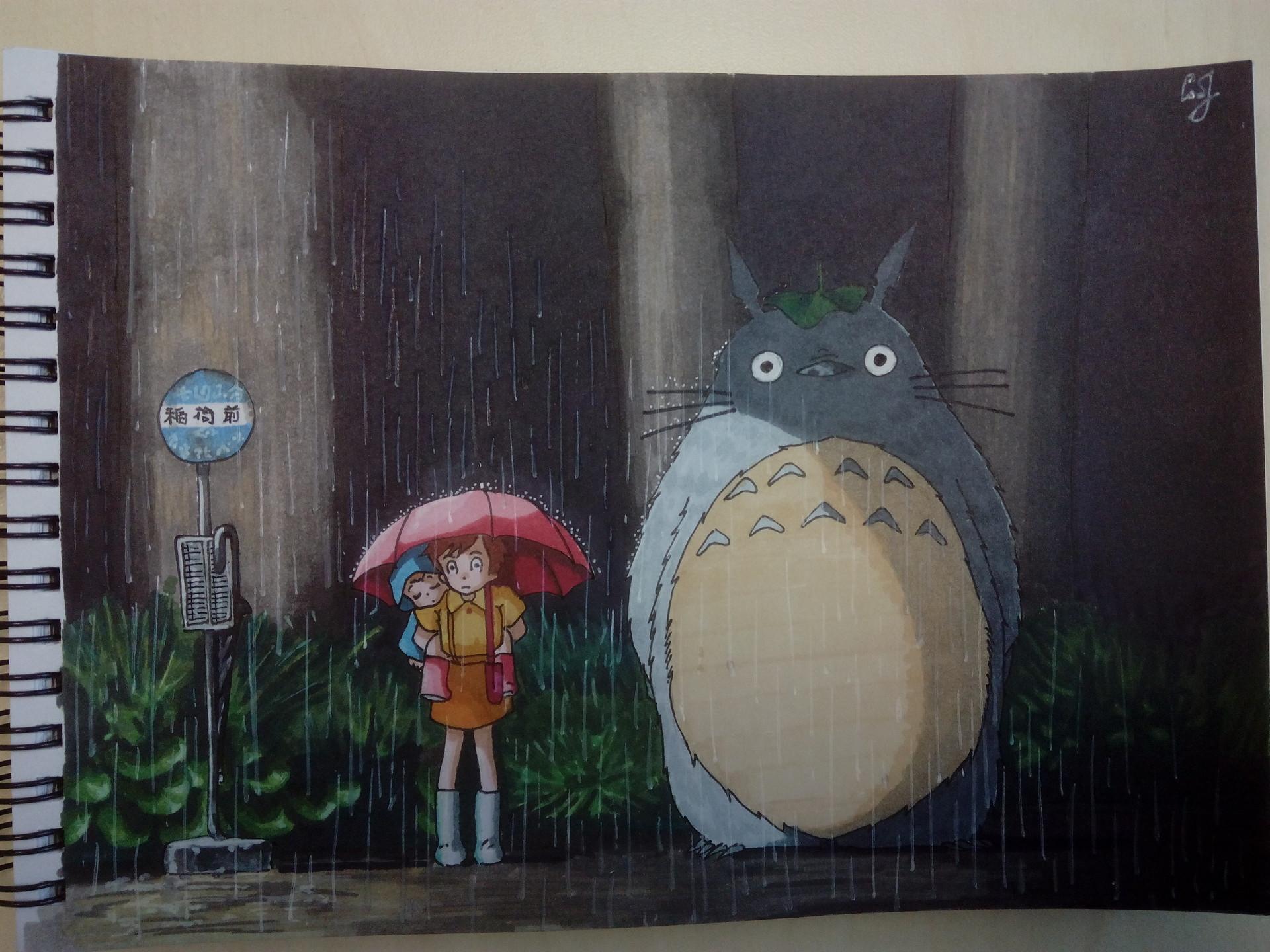 Vasilii Sobolev My Neighbor Totoro