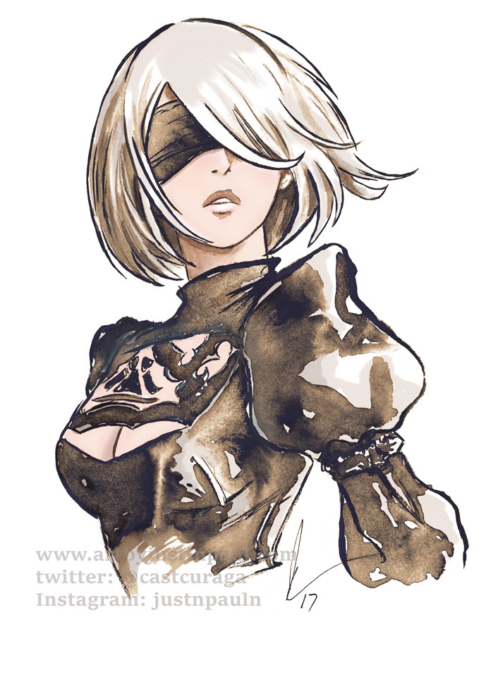 2B - Nier Automata by Justin Paul