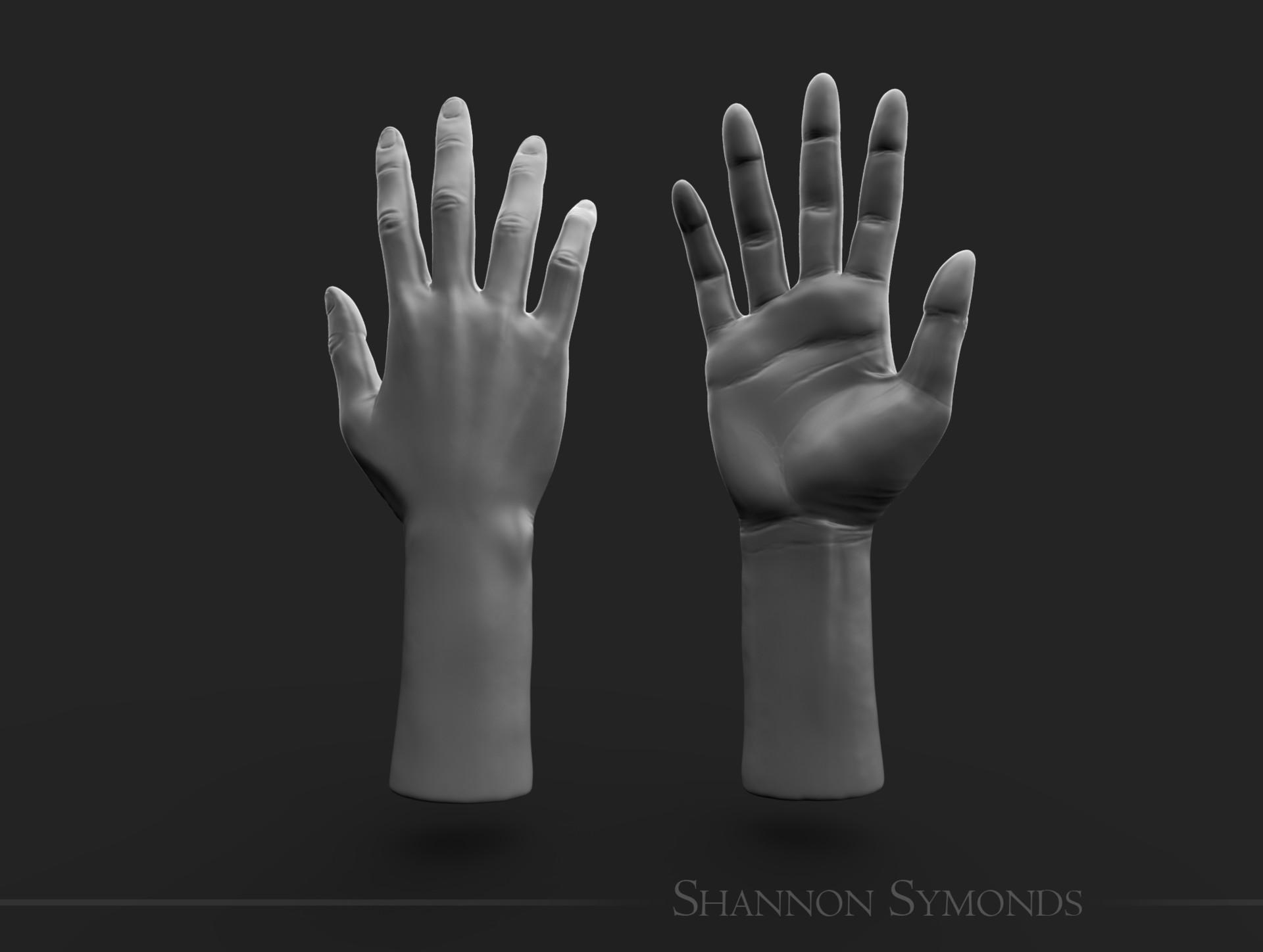 Shannon symonds hand unposed