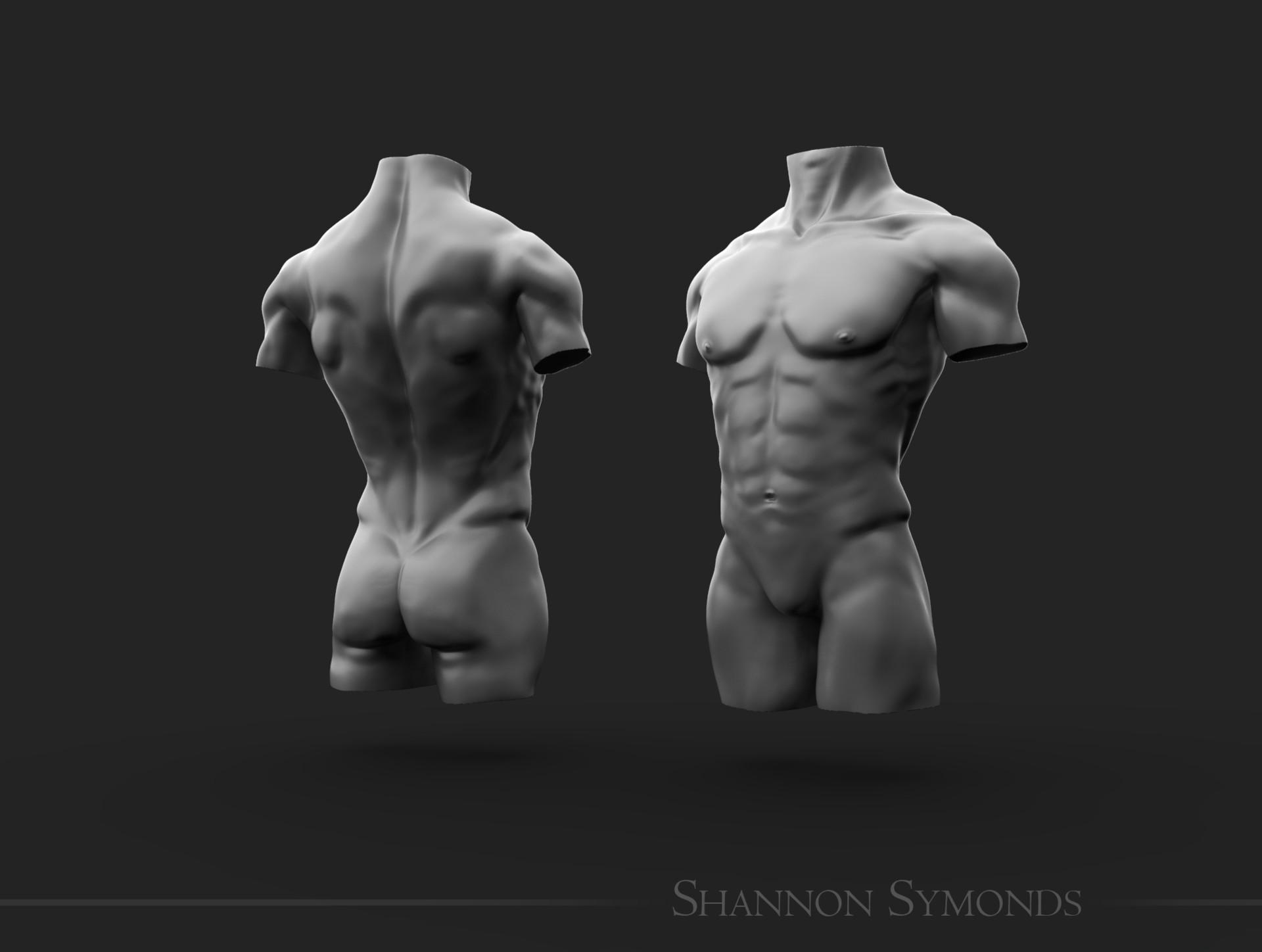 Shannon symonds male unposed