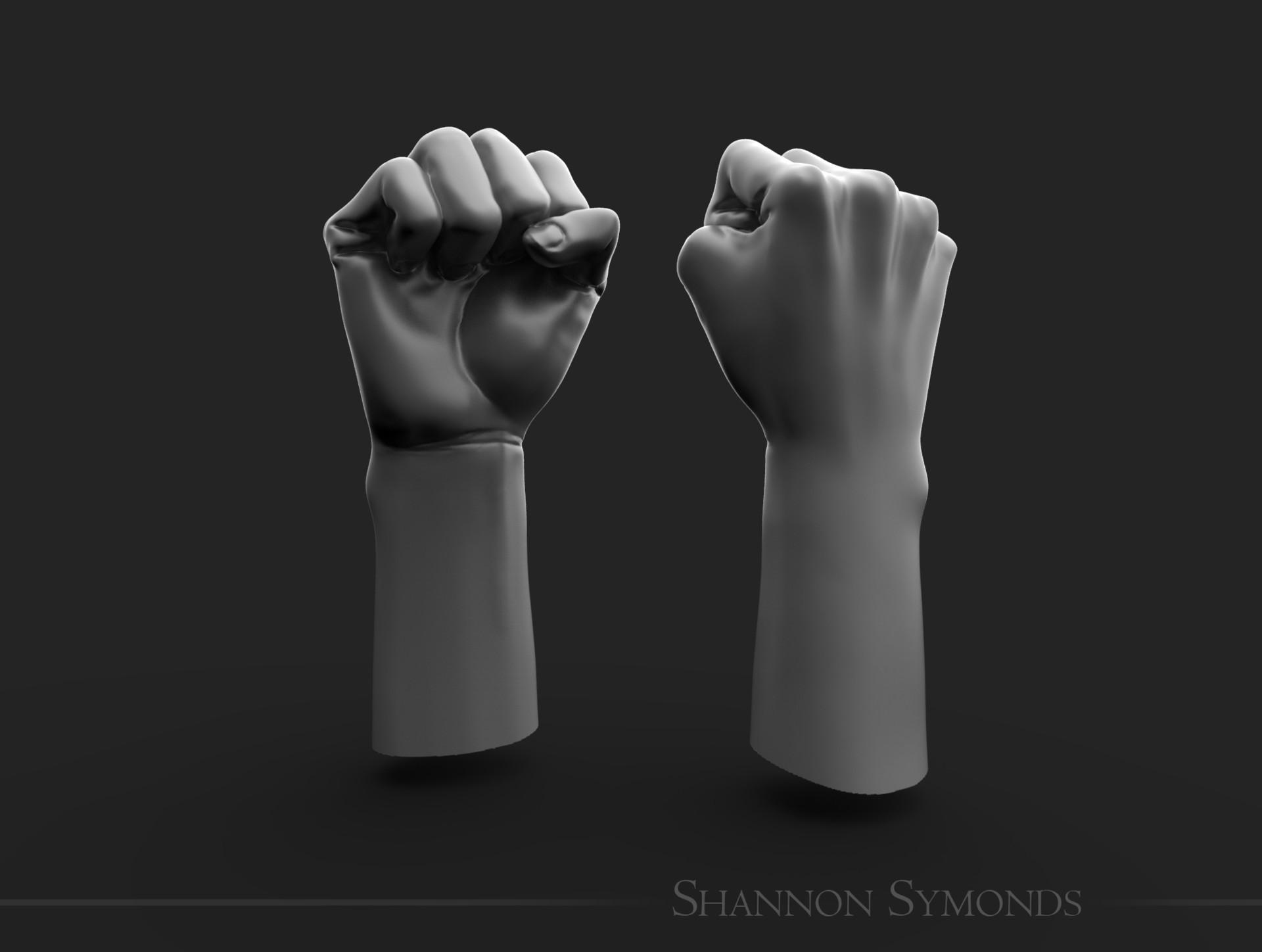 Shannon symonds fist