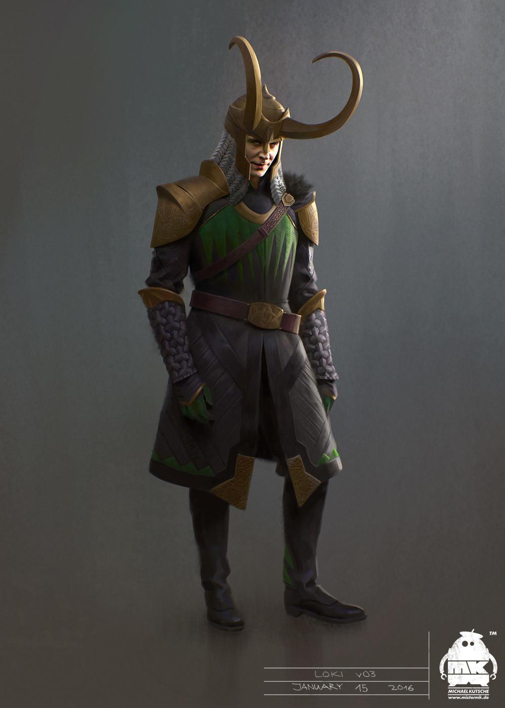 Loki Thor Ragnarok Concept Art