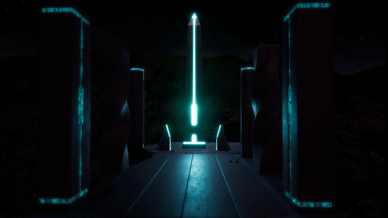 A little scifi lighting fun