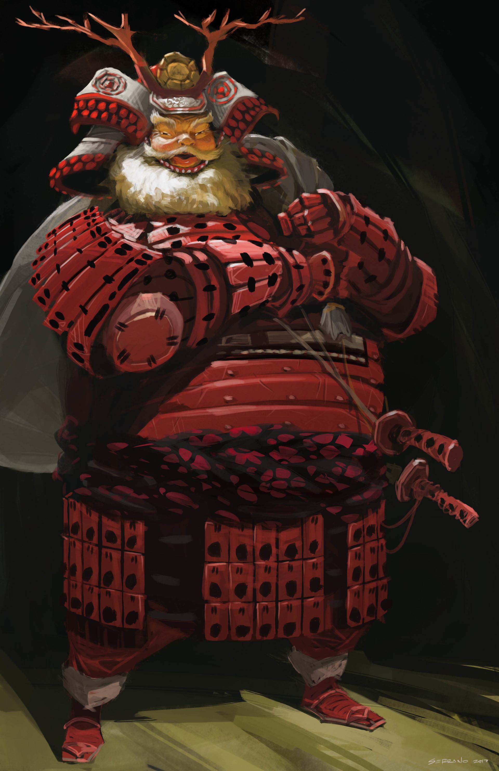 Saurai Santa