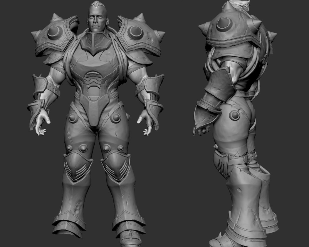 Andres menza highpoly