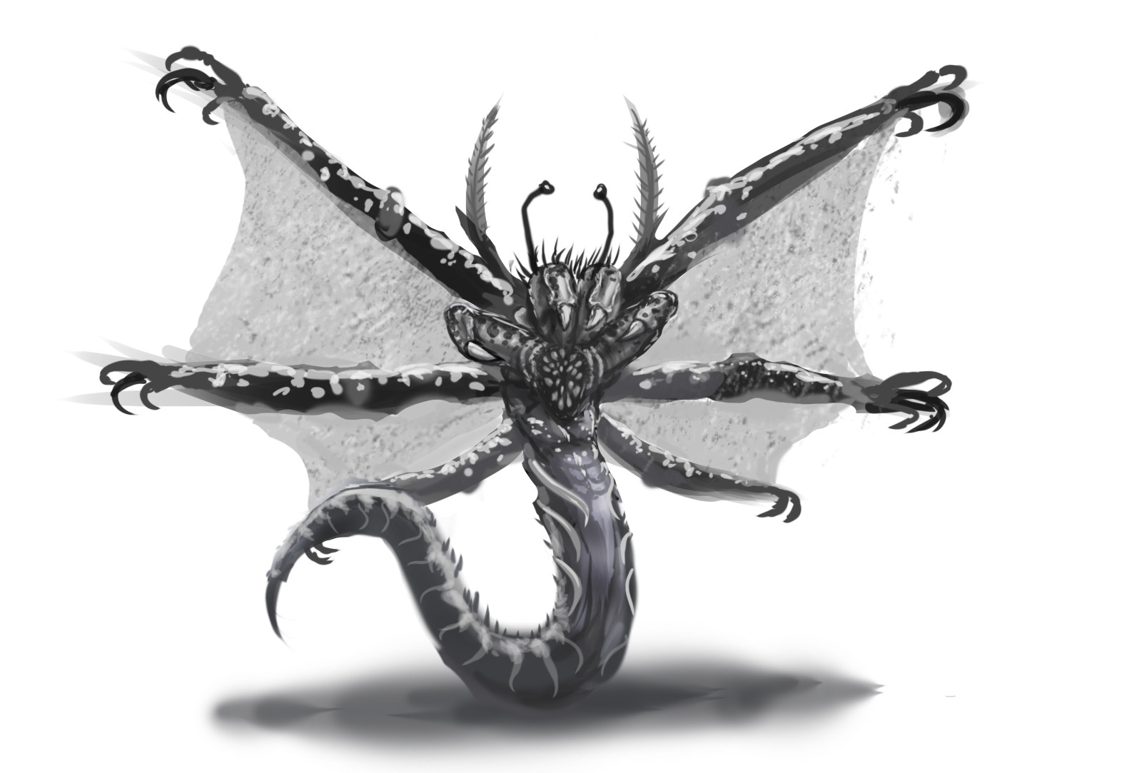 Thorns shine creature 002 2