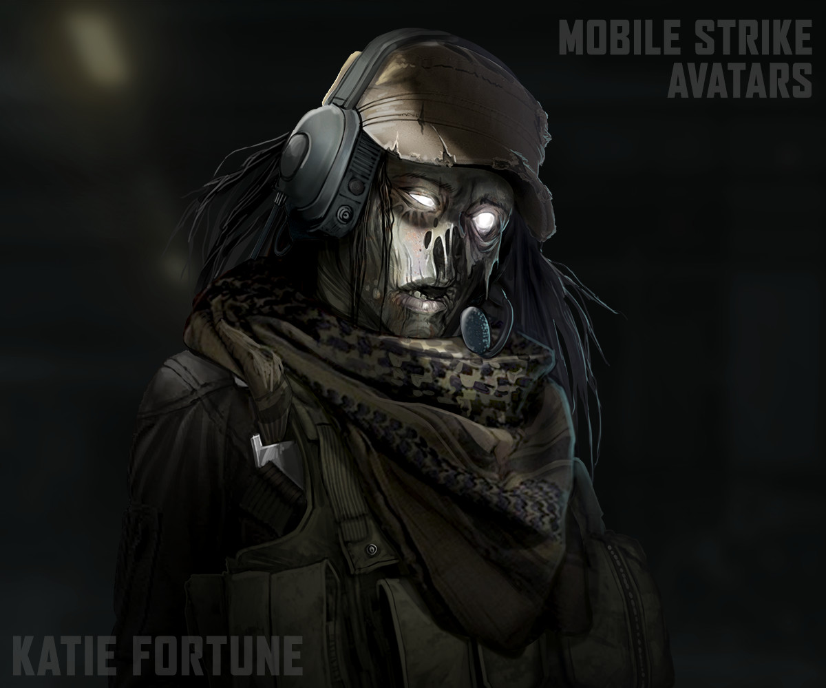 Artstation Special Mobile Strike Avatars Fortune