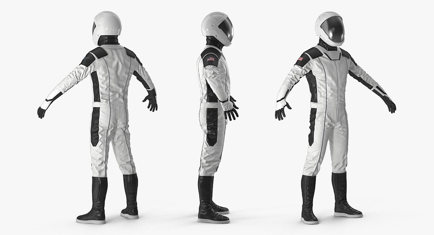 Artstation 3d Futuristic Space Suit Andrey Simonenko