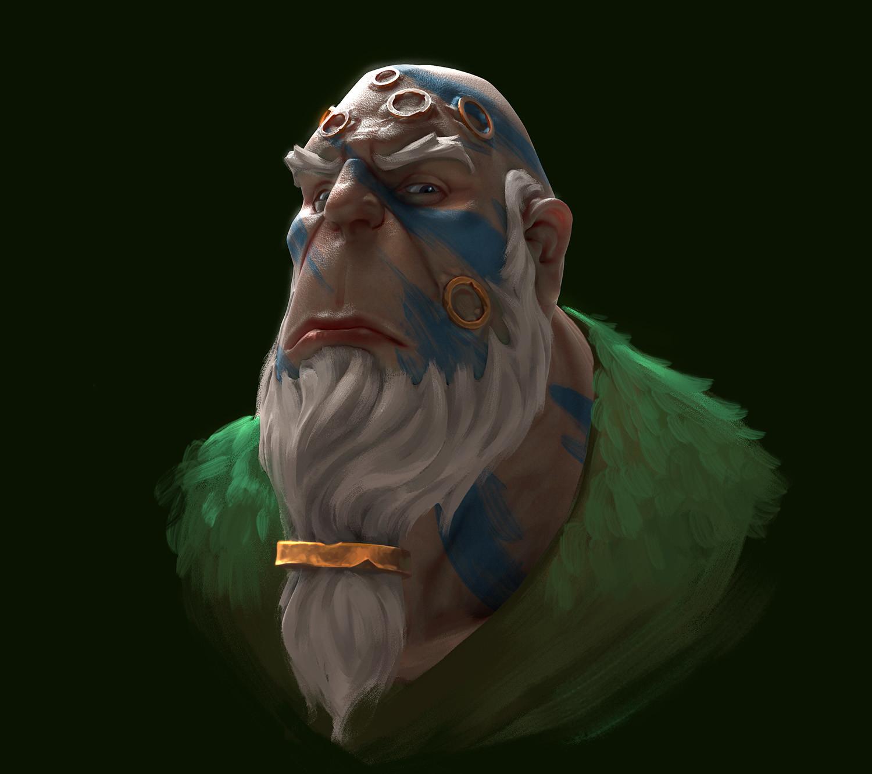 Alex heath tribal brute