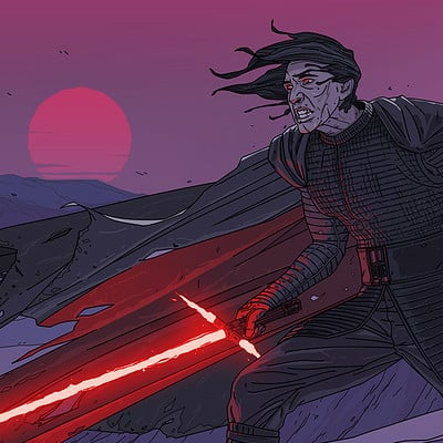 Dmitry kalinichenko kyloren color artstation