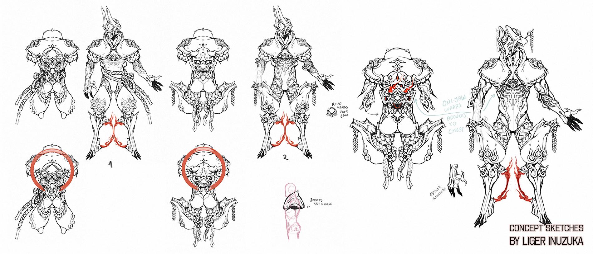 Concept Sketch developments
