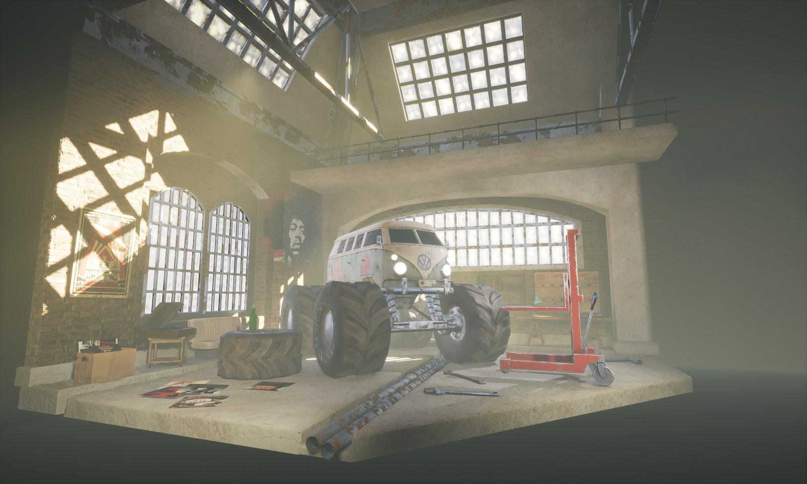 Old Factory Workshop