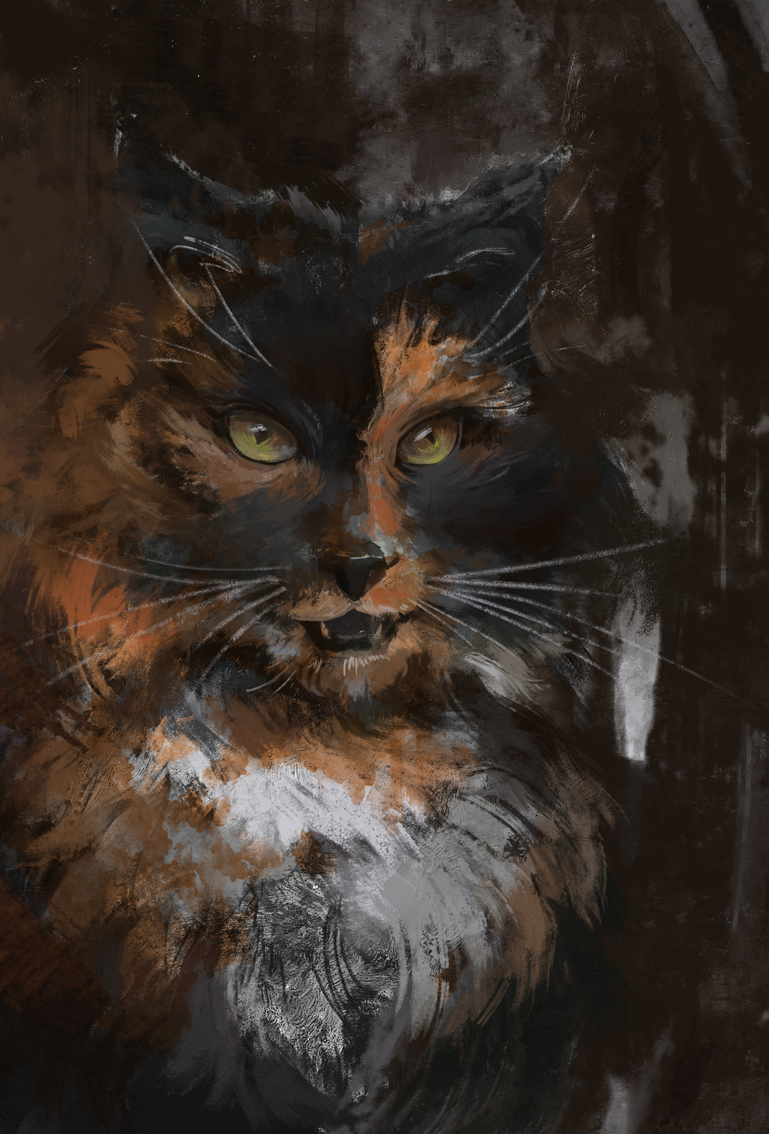 Alley Cat + Process gif