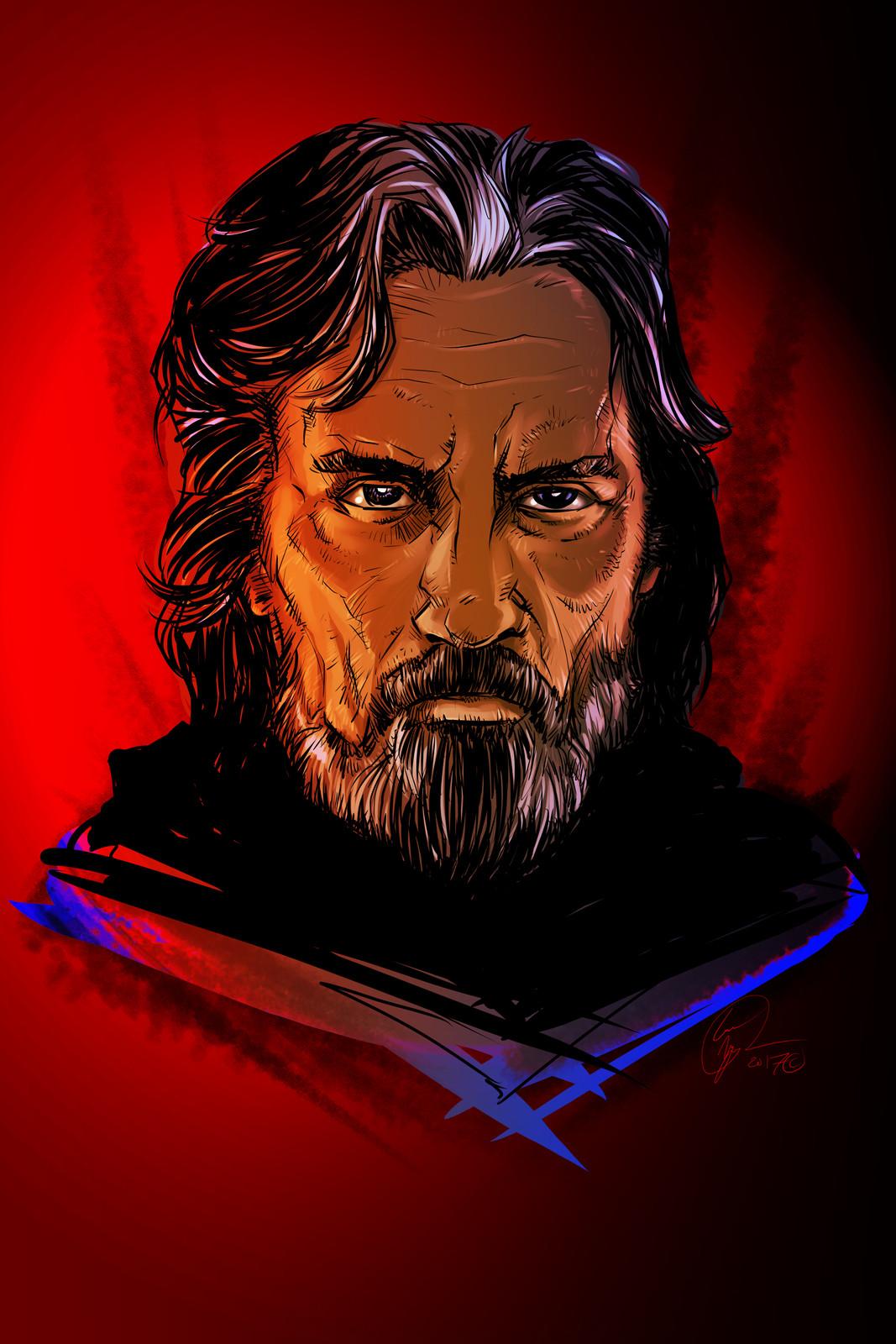 Luke, Last Jedi