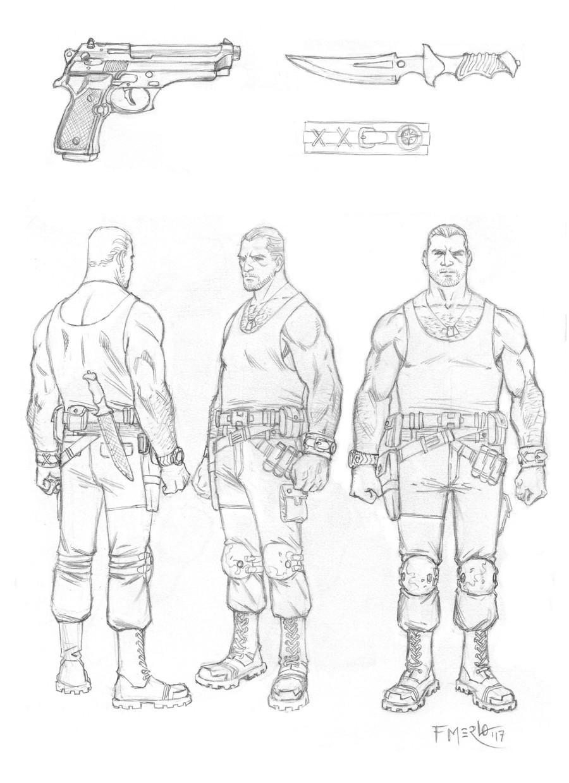 Fernando merlo soldier concept
