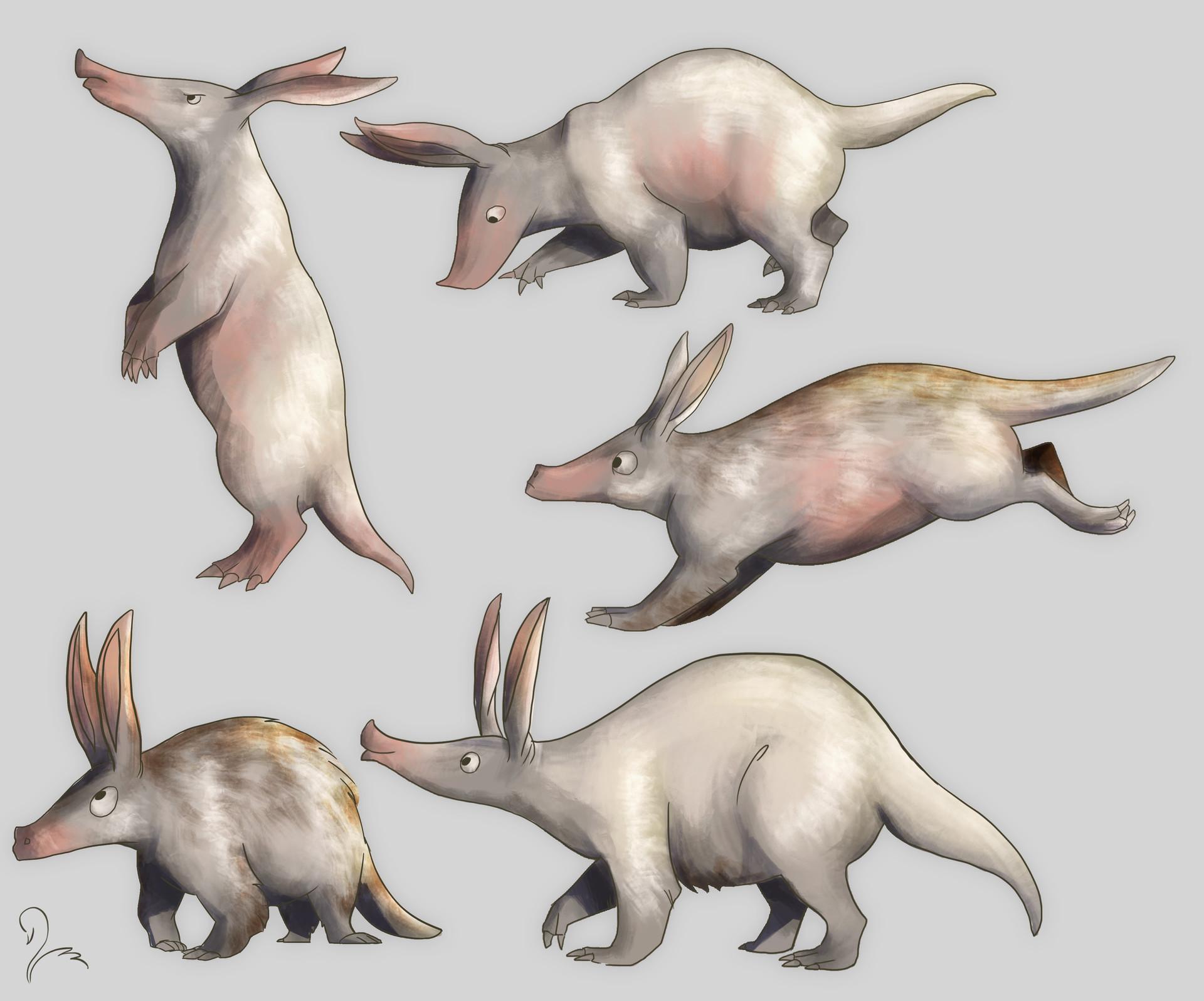 Victoria march aardvarkcolor