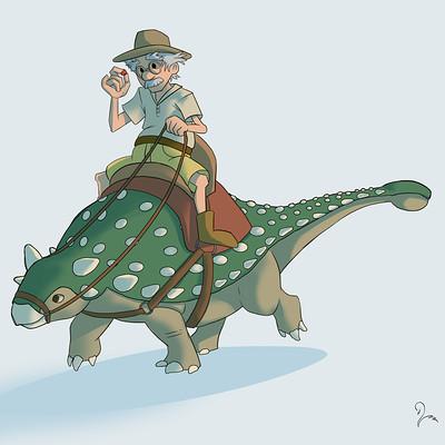 Victoria march ankylosaurus