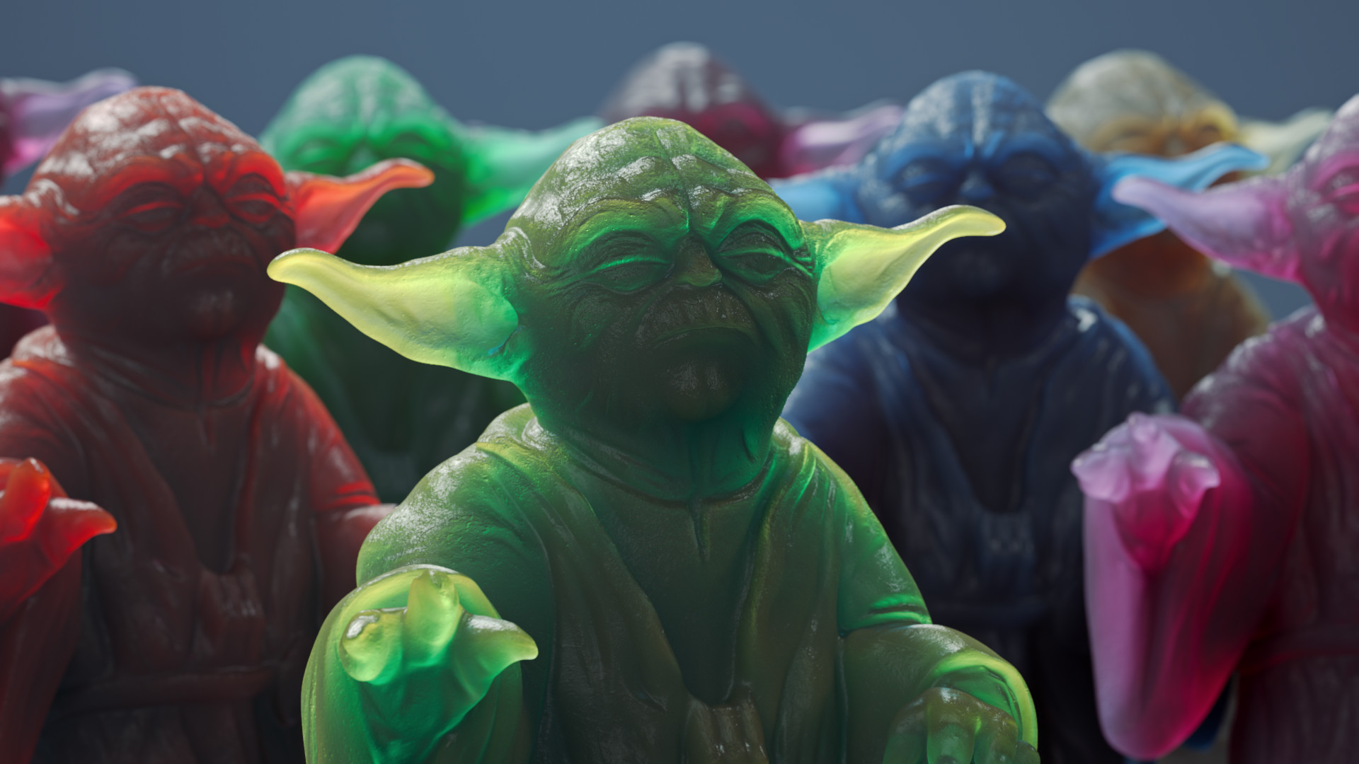 ArtStation - Yoda SSS Figurine Cinema 4D Arnold, Tod Ryan