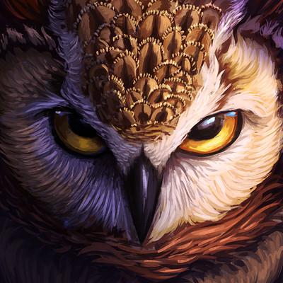Den ovsyannikov artalasky owl gaomon pd1560 watermark