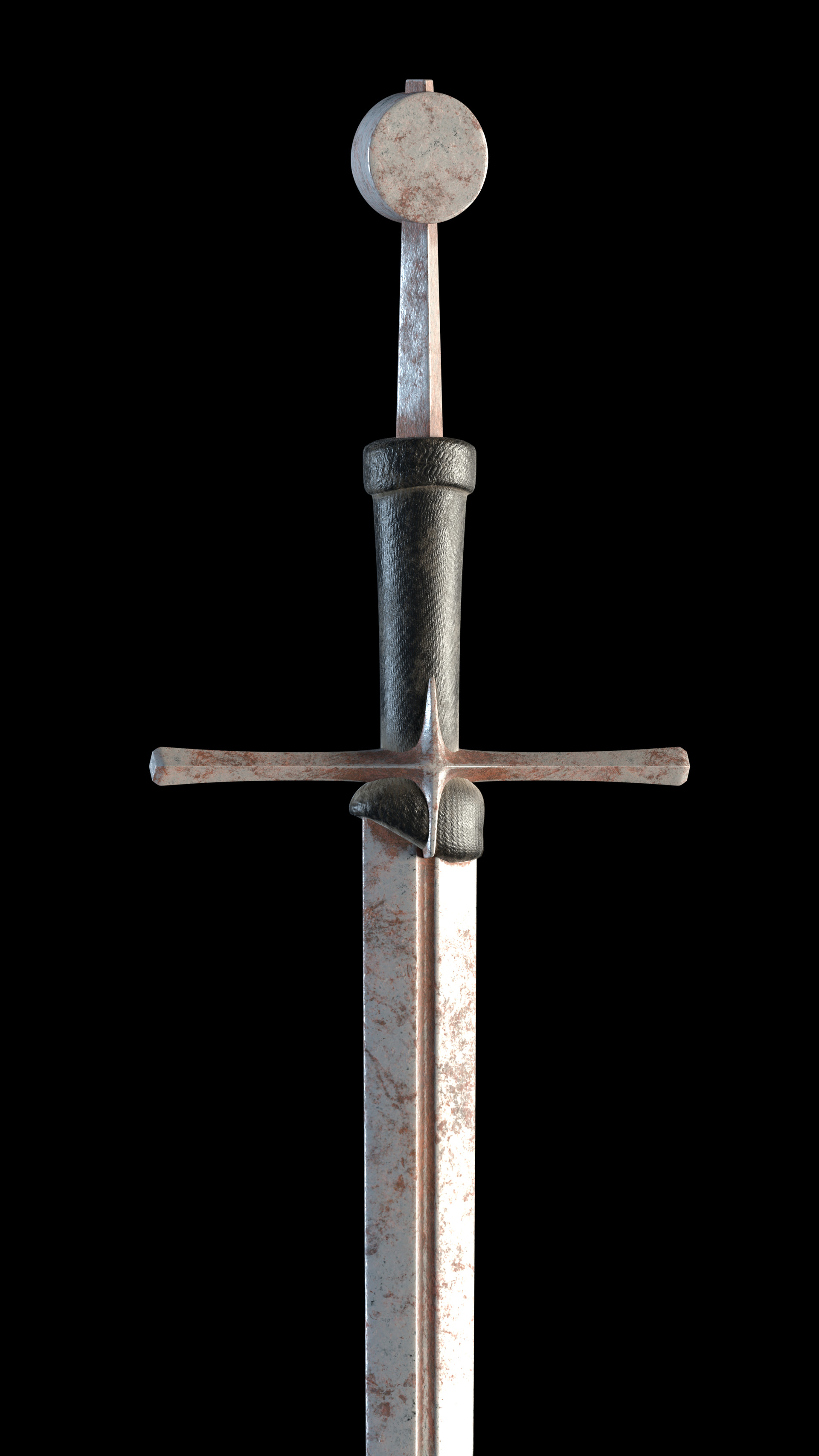 Carlos carpetudo hand and a half sword render02