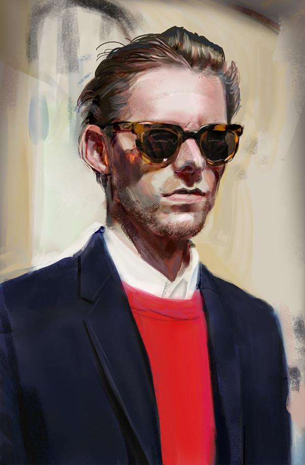 Carl christian gehl 164 color study 1