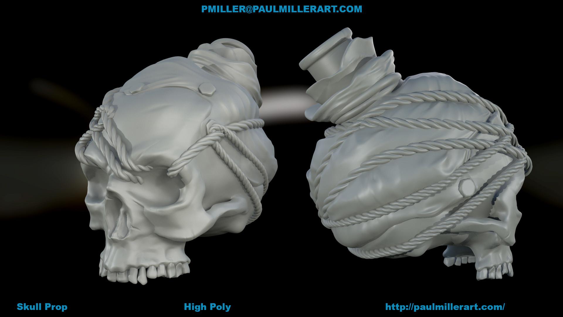 Paul miller skullprop c