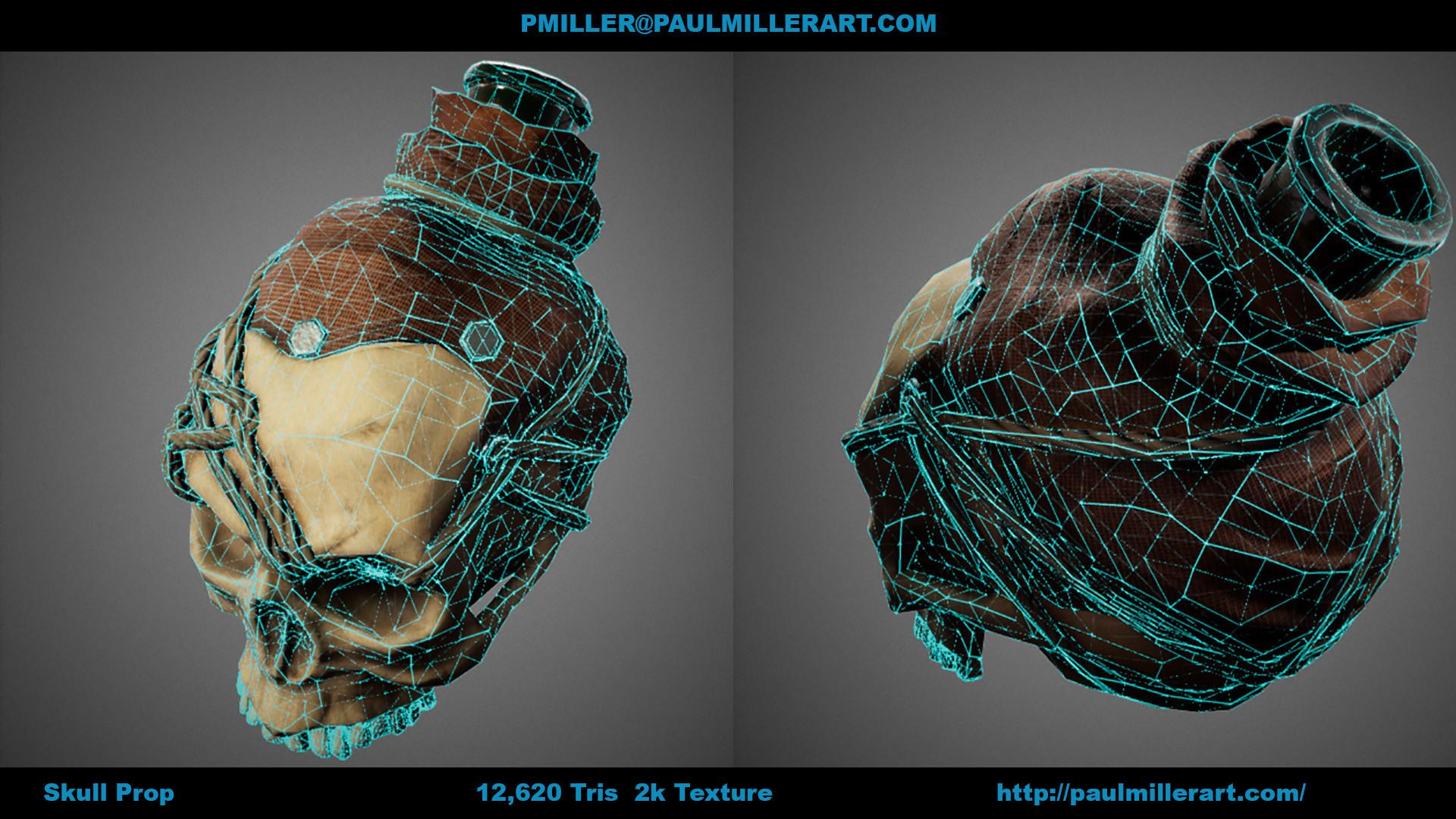 Paul miller skullprop b