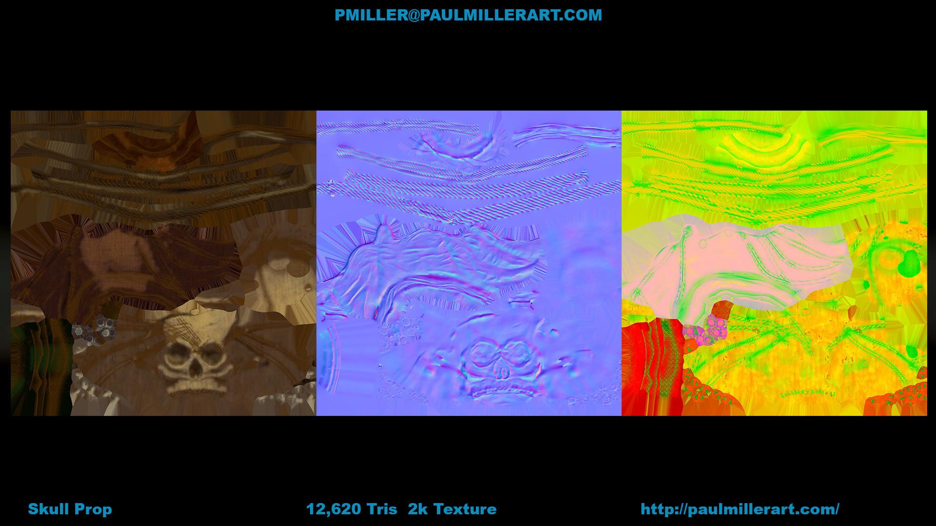 Paul miller skullprop d