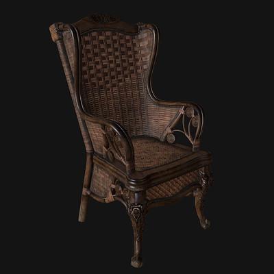 Carla tang cane chair screenshot 01