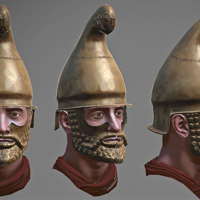 Angel gabriel diaz romero seleucid helmet 01