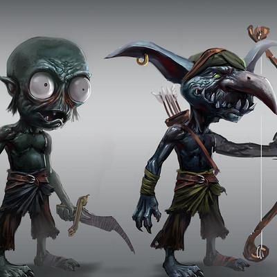 Pontus olofsson imp goblin concept