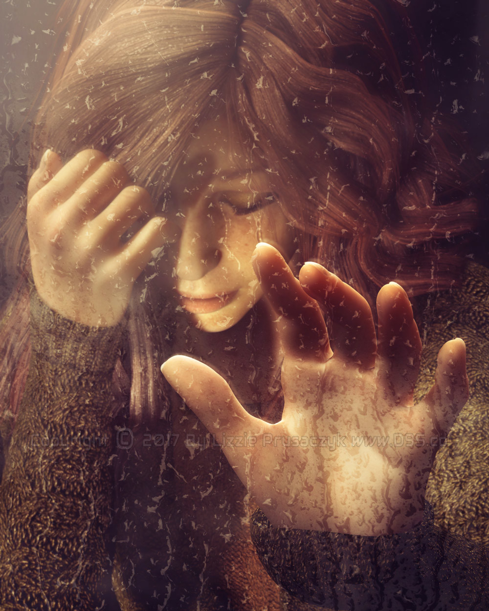 Tears like the rain, emotions like seasons; they arrive and leave but will always come again only to once again leave.