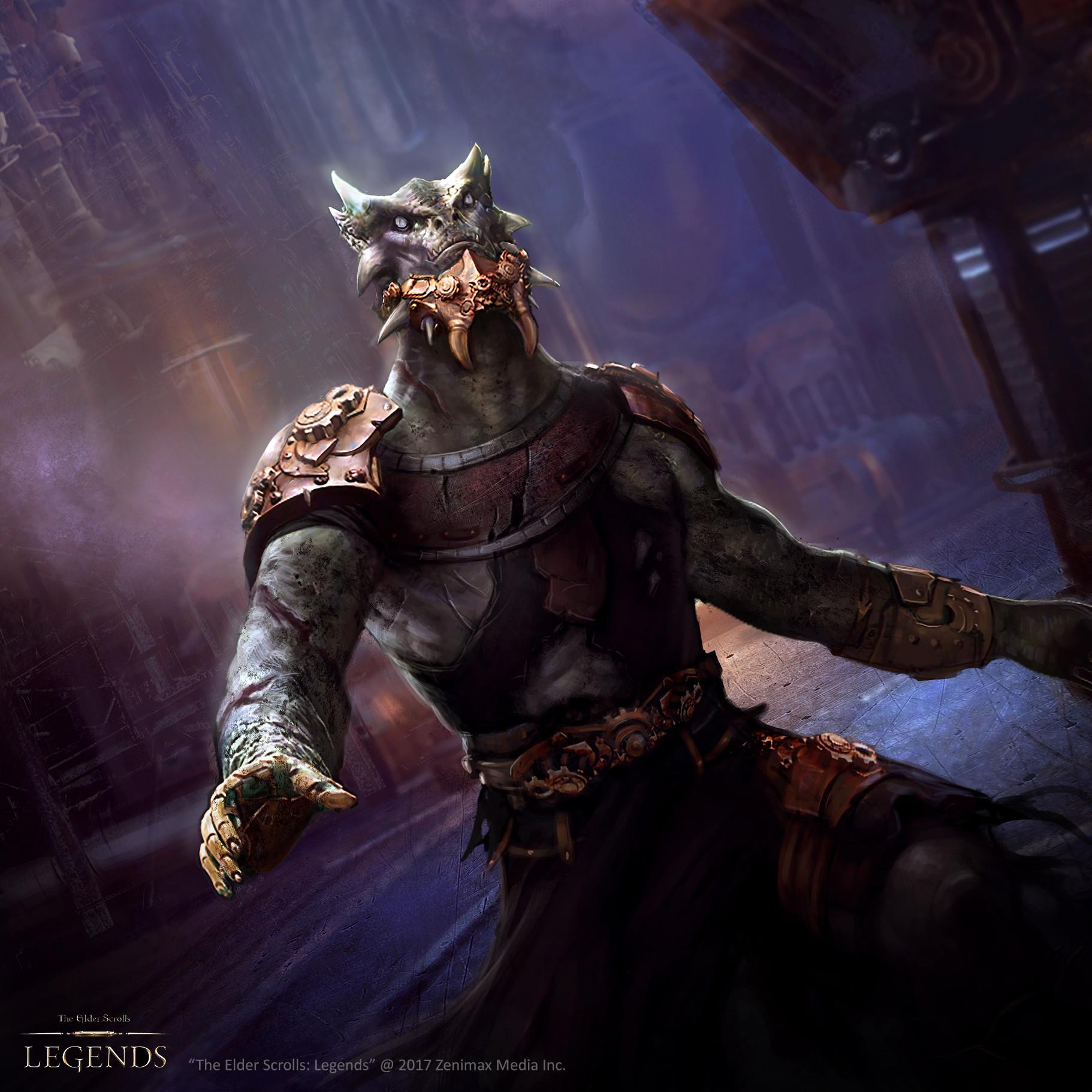 """Clockwork Zombie: """"The Elder Scrolls: Legends"""
