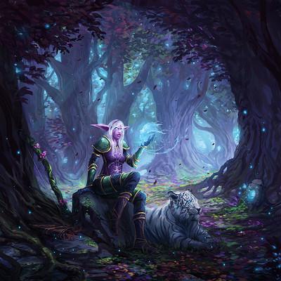 Jorge jacinto wow night elf female finalred