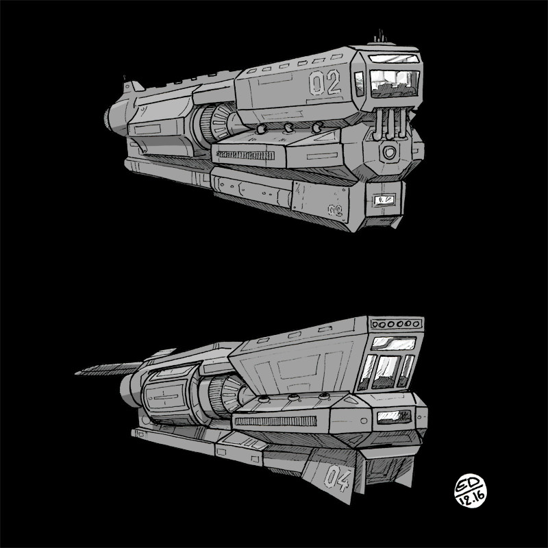 Edouard duhem spaceship2