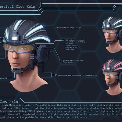 Jolene yeo tactical glow helm