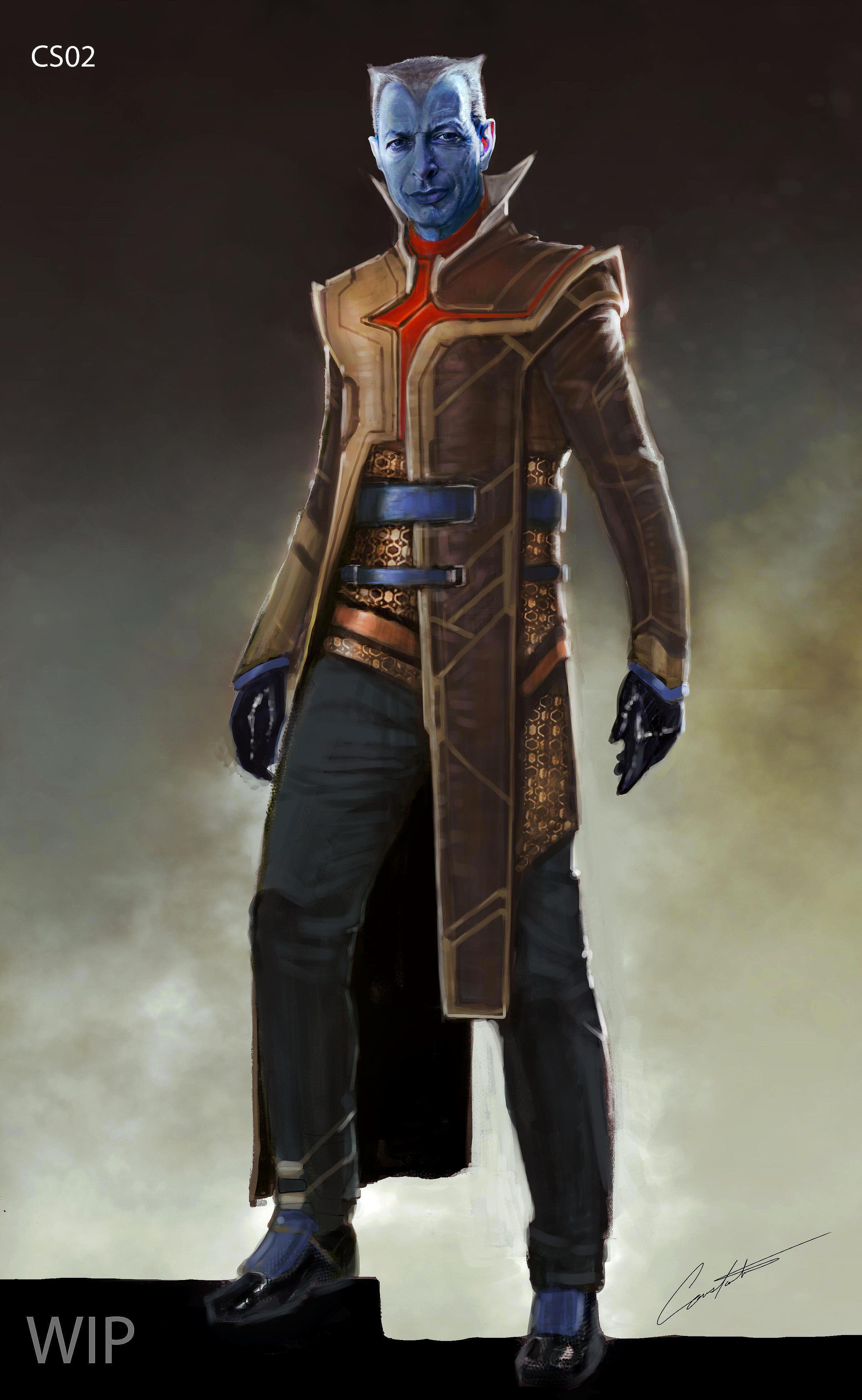 Thor Ragnarok The Grandmaster Costume Concept Design