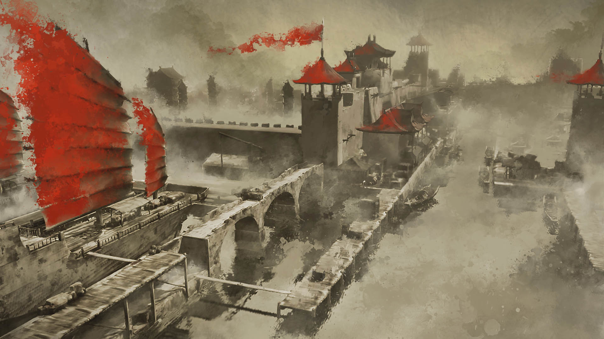 Artstation Assassins Creed Chronicles China Concepts Ben Blethyn